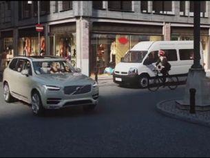 Volvo выпустит систему предупреждения велосипедистов