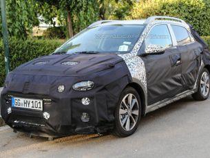 Hyundai тестирует европейскую версию вседорожника i20